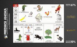 Buku Mimpi Nomor 23 - Kera - Pisang - Piano - Bedak - Setan Gantung - Potong Ayam - Basket - Wilkampana