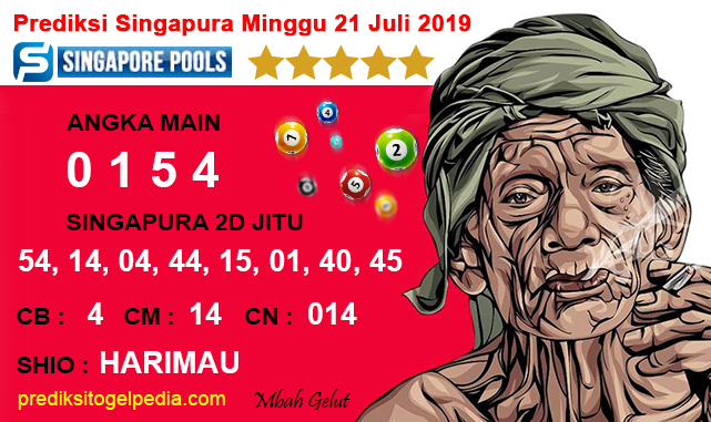 Prediksi Togel Singapura Minggu 21 Juli 2019 Prediksiangka